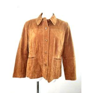 Travelsmith Woman's Leather Jacket Size PXL